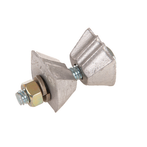 Twineye? ANCHOR ROD BONDING CLAMP for 5/8in & 3/4in  EXPANDING, CROSSPLATE & ROCK ANCHOR RODS
