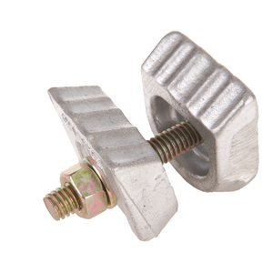 Tripleye® ANCHOR ROD BONDING CLAMP for 3/4in & 1in EXPANDING, CROSSPLATE NO-WRENCH & ROCK ANCHORS