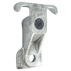 GUY-HOOK, 18,350 lbs. STRENGTH, 3/4in BOLT SIZE  with 9/16in LOWER HOLE