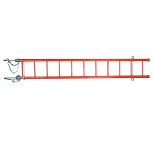 """Epoxiglas Heavy Duty Swivel Hook Ladder W/14"""" Hooks, 10'"""