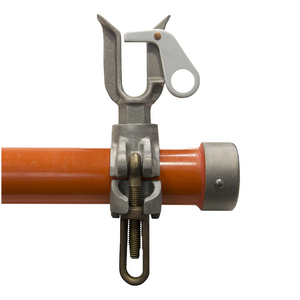 "Wire Holder, 1"" Opening, 2.5"" Arm Clamp"