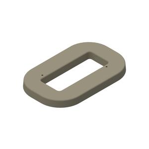 Mounting Pad, Hot Box, Polymer Concrete