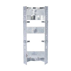 TRANSFORMER BRACKET, 2-POSITION, STEEL RACK STYLE with NEMA A and B LUG SPACING