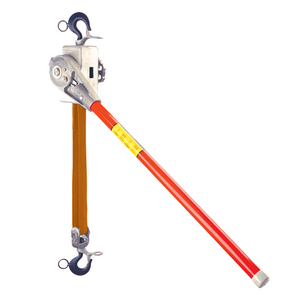 2 Ton Regular Handle Nylon-Strap Ratchet Hoist