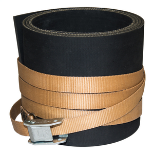 "Pole Protector for Concrete, Fiberglass, and Steel Poles, 7"" x 4'"