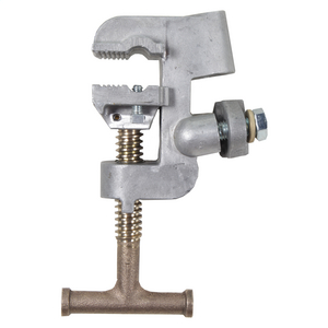 Flat-Face Ground Clamp w/ T-Handle, 5H