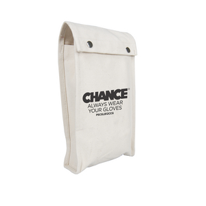 "Canvas Low Voltage Glove Bag, 12"" L X 7"" Top"