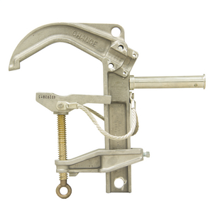 Bus Bar Ground Clamp with Rated Stud, 7H