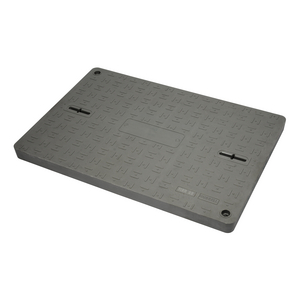 Assembly, Sheet Molded Compound Cover and HDPE Box