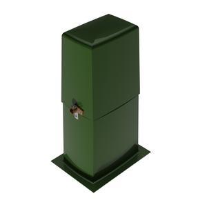Secondary Pedestal, High Back, Smooth Surface, Fiberglass