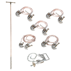 Overhead Distribution Grounding Sets Kit - 2/0