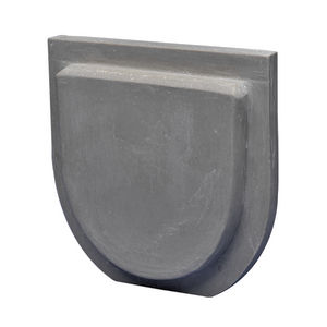 "End Cap, 3"" Outlet, 400 Series, Polymer Concrete"