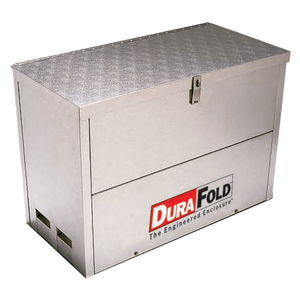 Heated, Insulated Enclosure, Durafold, Aluminum