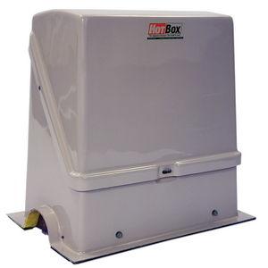 Heated, Insulated Enclosure, Flip Top, Fiberglass