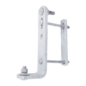 CROSSARM MOUNTED, COMBINATION CUTOUT and ARRESTER BRACKET