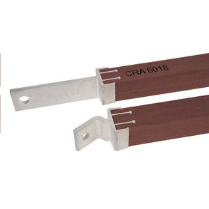 APITONG WOOD CROSSARM BRACE, 1-1/4in PROFILE, 60in SPAN x 30in DROP, SOLD AS PAIR