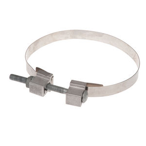 STAINLESS STEEL BAND, 1 1/4 X 60,W/CLAMP