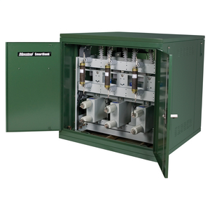 SmartBank™ Medium-Voltage Pad-Mounted Capacitor Banks