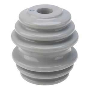 INSULATOR, SPOOL, ANSI 53-2 CLASS, PORCELAIN, BROWN