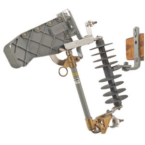 15 kV, 110 kV BIL, Type C Loadbreak Polymer Cutout w/100A 10kAIC fuseholder