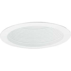 "6"" White full baffle"