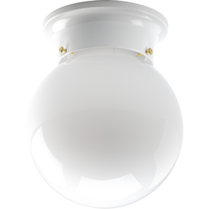 Three-Light Wall or Ceiling Mount Round Back Directional