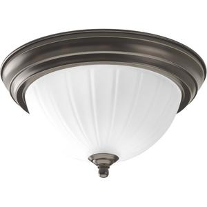 One-Light CFL Flushmount