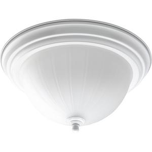 Two-Light CFL Flushmount