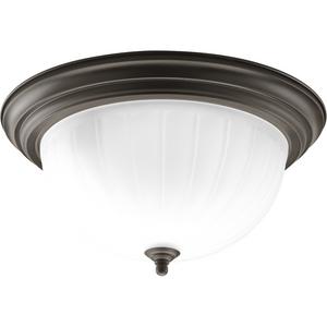 Three-Light CFL Flushmount