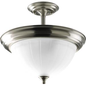 Two-Light CFL Semi-Flush