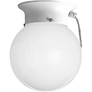 One-light CFL close-to-ceiling