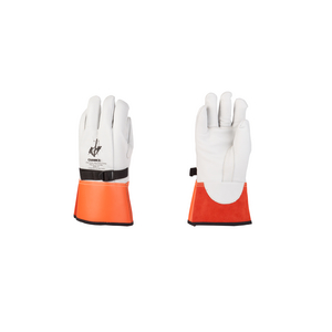 """CHANCE® Glove Protector 12"""" cowhide Nylon Strapp Size 10-10H"""