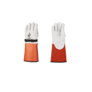 """CHANCE® Glove Protector 14"""" cowhide Nylon Strapp Size 10-10H"""