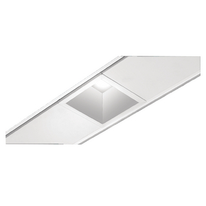 "4"" TechZone™ Compatible Square LED Downlights with Lens"