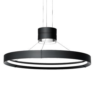 Inde-Pendant 32 LED Cylinder & Ring Pendant Indirect/Direct