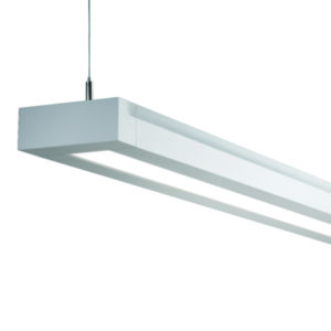 Rail 12L LED Pendant Indirect/Direct