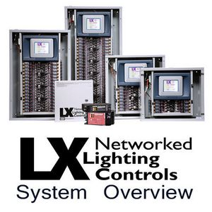 LX Lighting Control Panel System