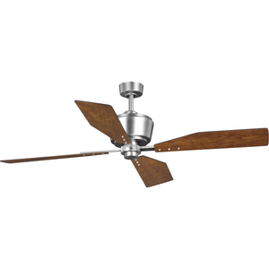 "Chapin Collection 54"" Four-Blade Antique Nickel Ceiling Fan"