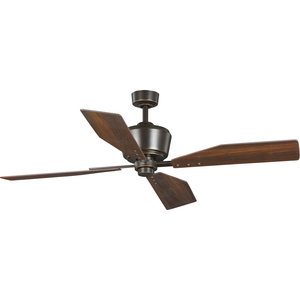 "Chapin Collection 54"" Four-Blade Oil Rubbed Bronze Ceiling Fan"