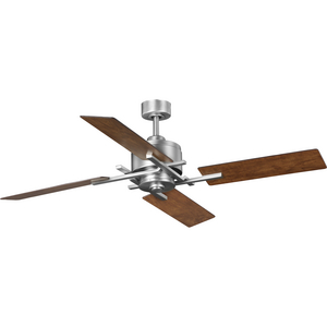 "Bedwin Collection 54"" Four-Blade Antique Nickel Ceiling Fan"