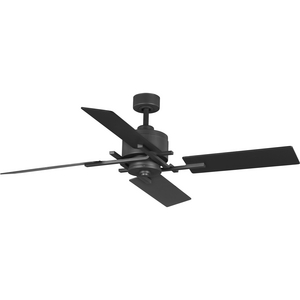 "Bedwin Collection 54""  Four-Blade Graphite Ceiling Fan"