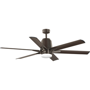 "Arlo Collection 60"" Indoor/Outdoor Six-Blade Architectural Bronze Ceiling Fan"
