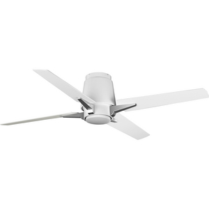 "Lindale Collection 52"" Four-Blade Satin White Ceiling Fan"