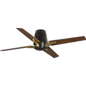 "Lindale Collection 52"" Four-Blade Architectural Bronze Ceiling Fan"
