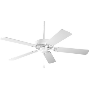 AirPro Energy Star-Rated 52-Inch White 5-Blade AC Motor Traditional Ceiling Fan