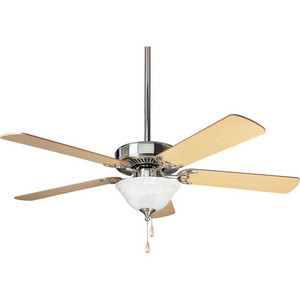 "AirPro Collection 52"" Three-Light Five-Blade Ceiling Fan"