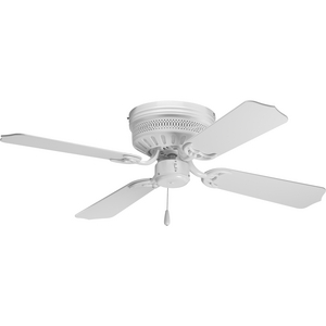 "AirPro Collection 42"" Four-Blade Hugger Ceiling Fan"