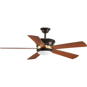 "Harranvale Collection 54"" 5 Blade Fan w/ LED Light"