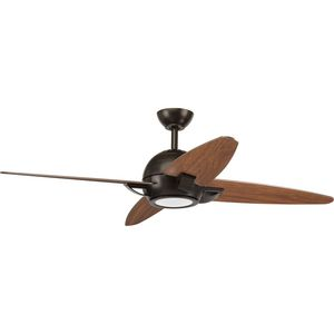 "Soar Collection 54"" 4 Blade Fan w/ LED Light"