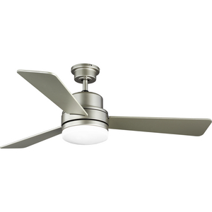 "Trevina II Collection 52"" Three-Blade Nickel Ceiling Fan"